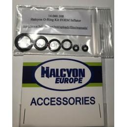 HALCYON O-RING KIT MANUTENZIONE COMANDO DI GONFIAGGIO DEL GAV