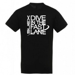DPV SUEX SCOOTER T-SHIRT BLACK SIZE S