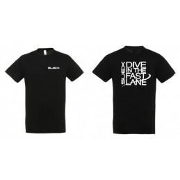 DPV SUEX SCOOTER T-SHIRT BLACK SIZE S