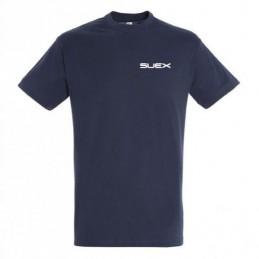 SUEX T-SHIRT BLU ARANCIO