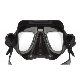 CALIBRO PLUS FREEDIVE MASK CRESSI BLACK BLUE METAL WITH CRESSI FOG SYSTEM