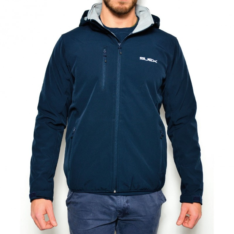 SUEX GIUBBOTTO NAVY BLUE JACKET