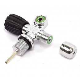 """Extendable Valve left 3/4 1/4"""" NPSM 230 Bar, with blanking plug"""